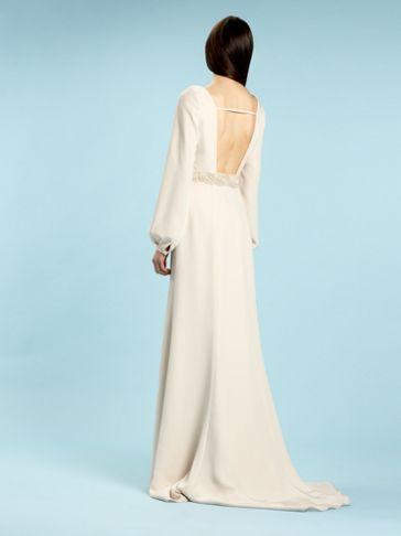 Biba Alexa bell sleeve bridal gown Ivory - House of Fraser ...