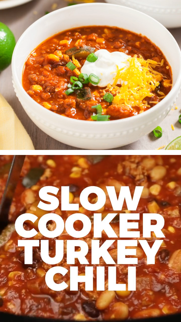 SLOW COOKER TURKEY CHILI images