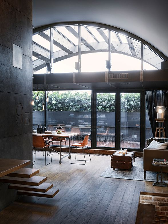 Was je nog op zoek naar interieurinspiratie? Check dit loft in Bulgarije. Sexy.