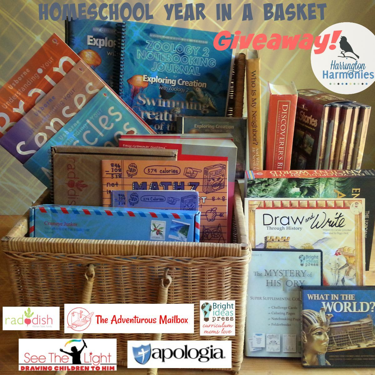Homeschool Year In A Basket Giveaway