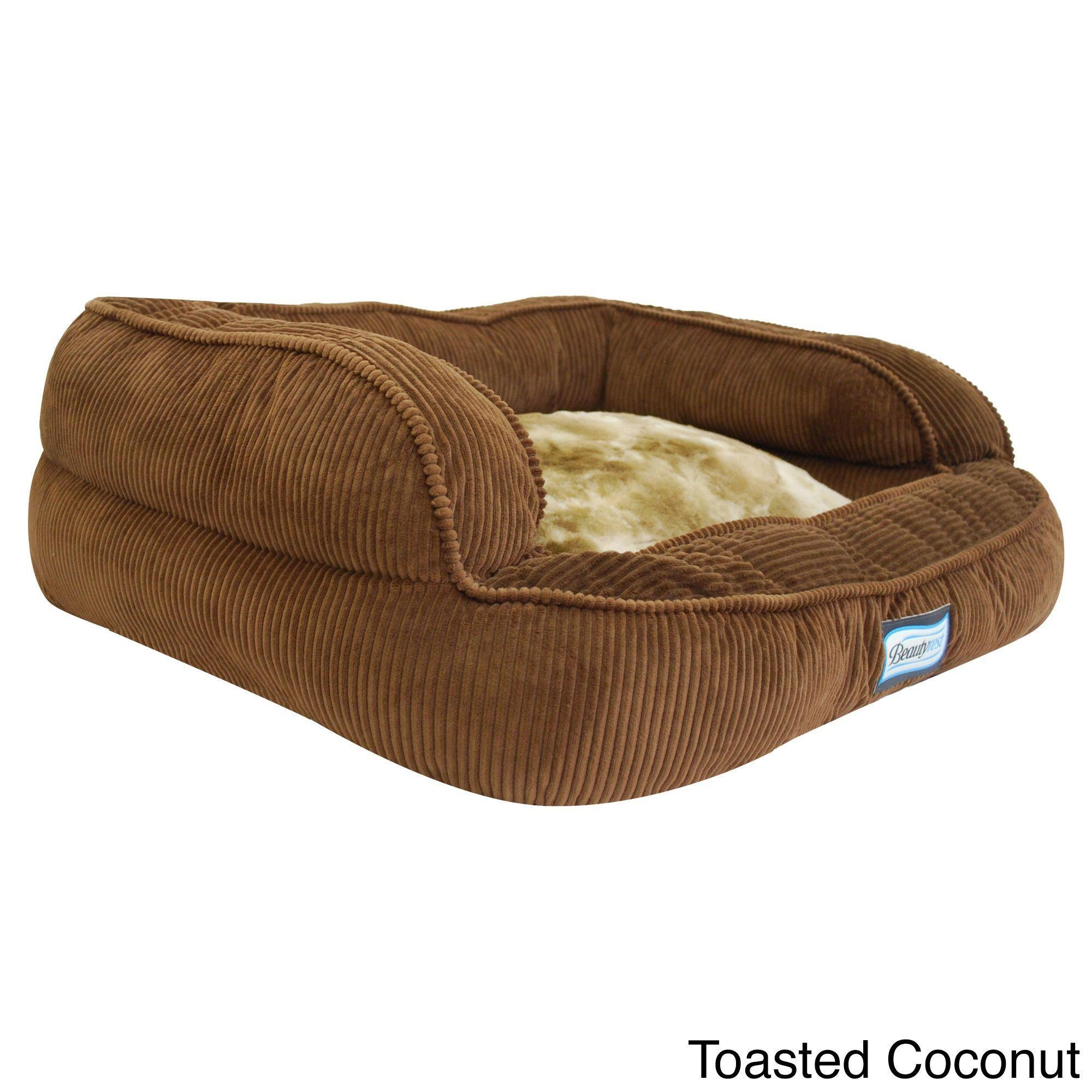 supply size beds headrest wash tan product memory pet chart ez fleece foam bed dog