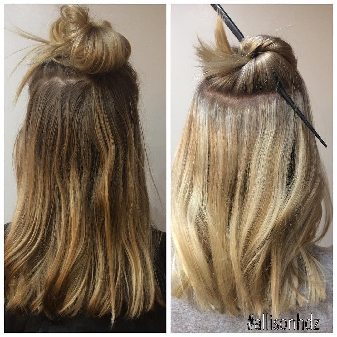 before & after  #allisonfoils #allisonhdz #belvidere #belvideresalon #rockfordsalon #09t #redken #olaplex #flashlift #shebringmestarbucks #1000orbust #hairnerd #balayage  allison hernandez (@allisonfoils) • Instagram photos and videos