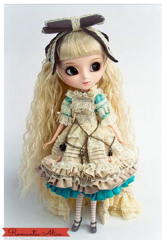 Pullip for Adoption  Romantic Alice lighblue dress by SweetyDoll, $220.00