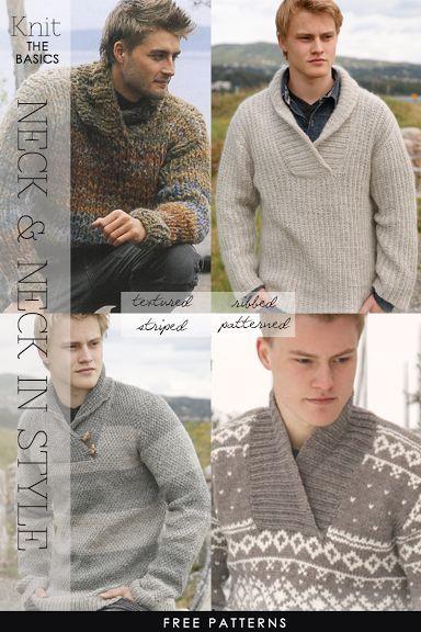 Shawl collar pullovers - free patterns - DiaryofaCreativeFanatic ...
