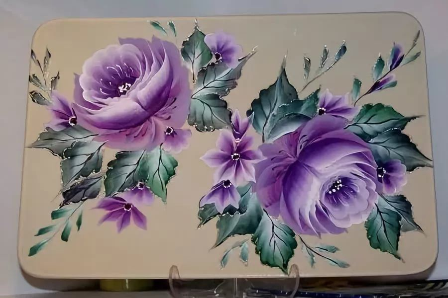 Картинки в технике двойного мазка