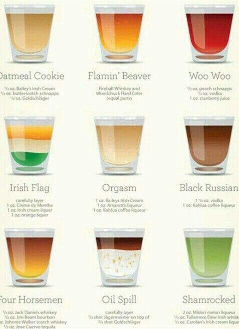 Fun shots #Drinks   drinks :{   Pinterest   Fun shots, Yummy drinks ...