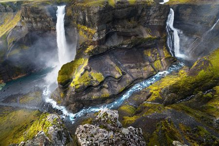 On the edge.. Photo by Adrian Theze — National Geographic Your Shot