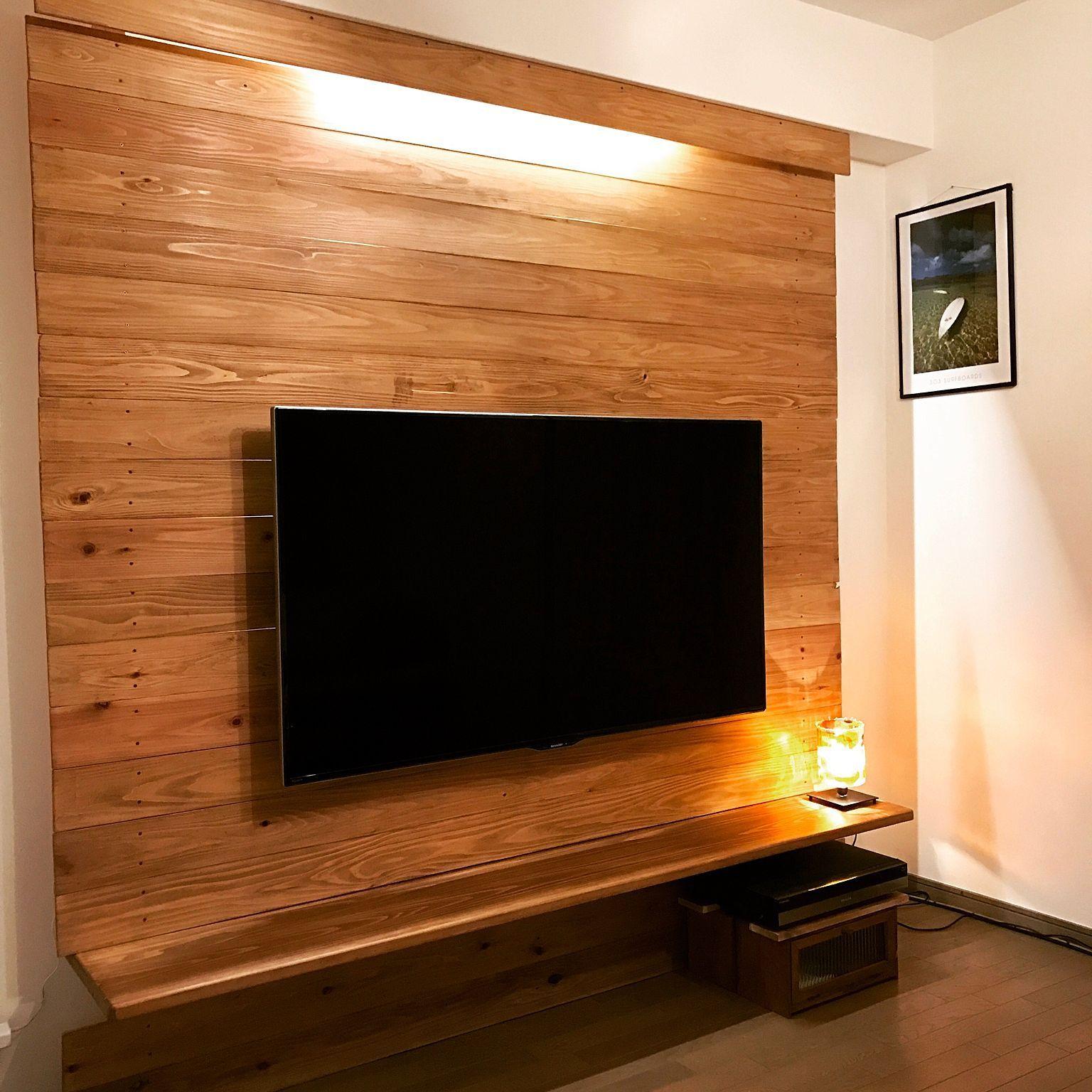 リビング Diy コーナン テレビ壁掛け Woodwork テレビ壁掛け などの