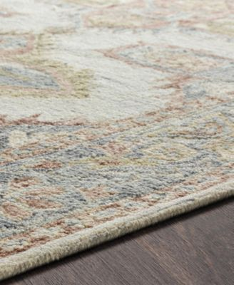 Surya Bonifate Bft 1002 Light Gray 8 X 10 Area Rug Area Rugs