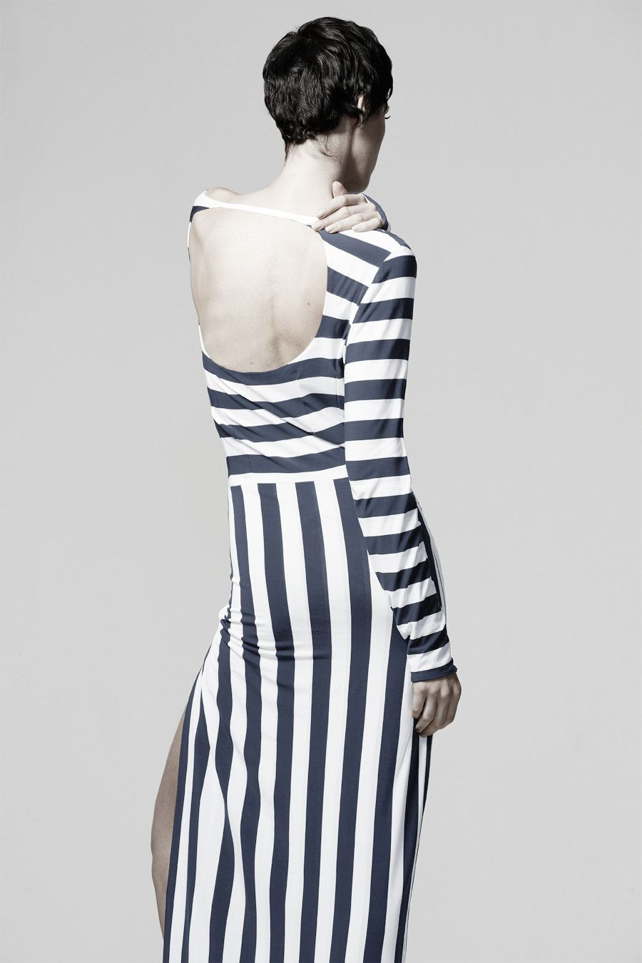 Boat neck maxi dress pattern