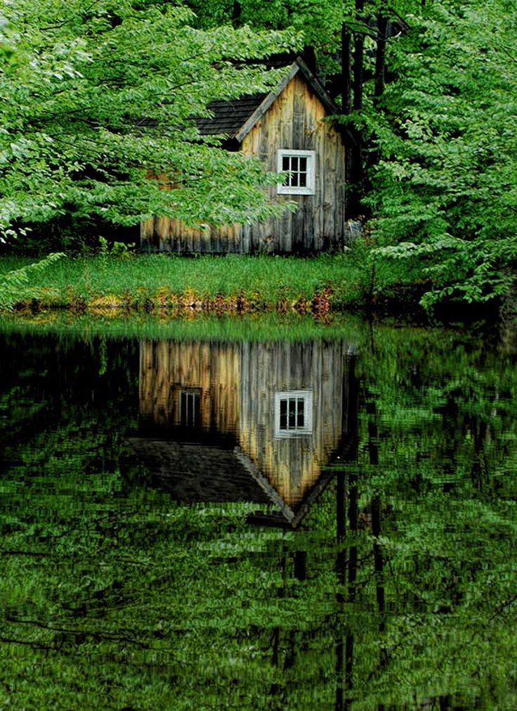 Followthewestwind the reflection by dennis croteau on for Dennis mill cabin