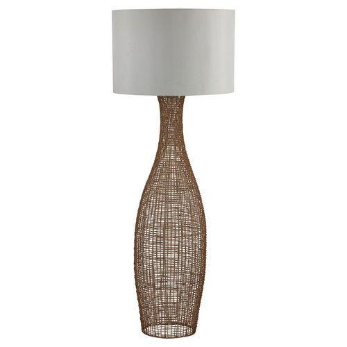 Searchlight Weave Rattan Floor Lamp Base Only Floor Lamp Base