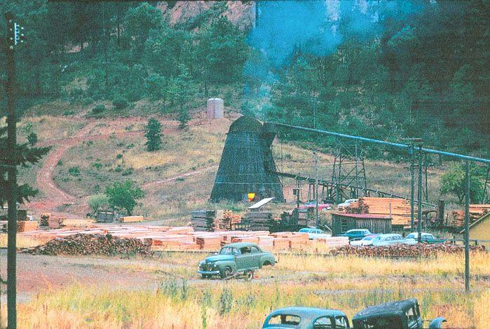 Wolf Creek Oregon SawMill 1953 | face book in 2019 | Lumber