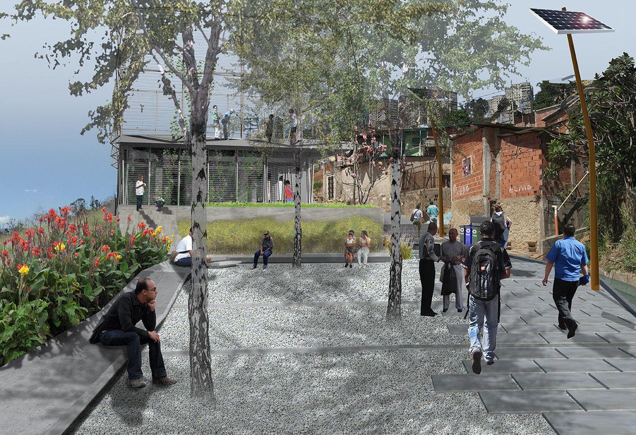 Galería de Acupuntura urbana busca rehabilitar el barrio de La Morán en Caracas, Venezuela - 2