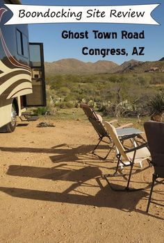 Review of free BLM camping site in NW Arizona just outside of Congress.