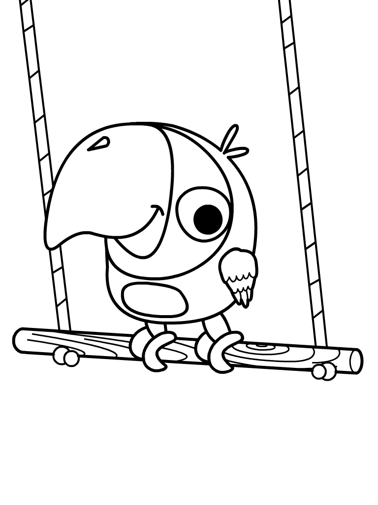 Baby tv free coloring pages murderthestout for Tv coloring page