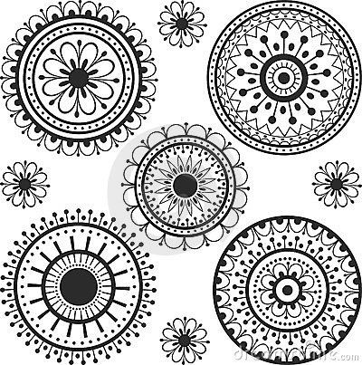 Cool circles maybe with a gratitude symbol in the circle for Circular symbols tattoos