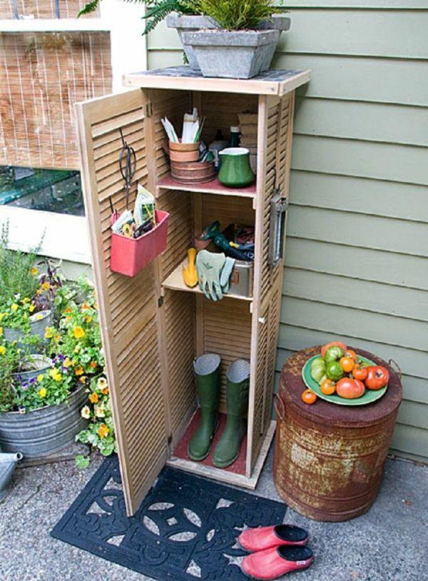 Gartenschrank Eine Praktische Bereicherung Ihres Gartens Gartenschrank Diy Gartendekoration Garten