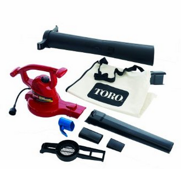 Electric Blower & Vacuum by Toro w/ Ultra 12 amp + Variable-Speed 42% OFF