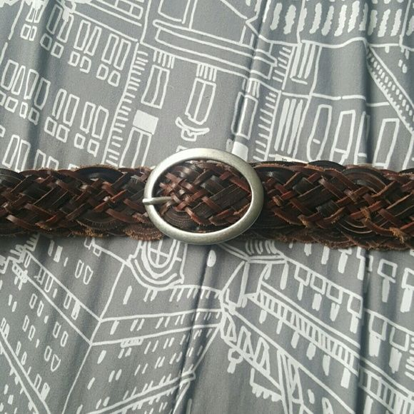 Braided brown belt Bought a few years ago only wore it once Feel free to ask questions! Aeropostale Accessories Belts