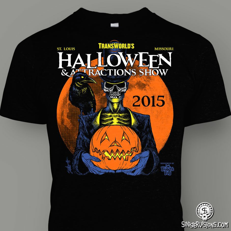 Sinister Visions: T-shirt Design For Haunted Houses