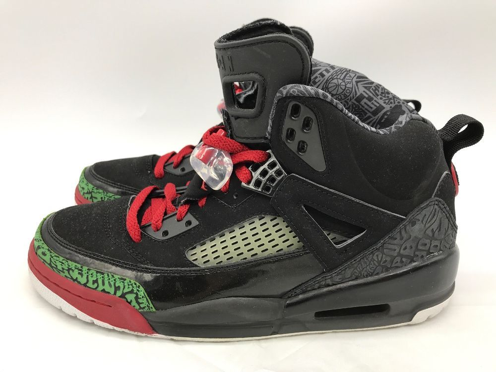 watch 43142 e8f1b Air Jordan Spizike Spizike Black Varsity Red Classic Green 315371-061 Size  9.5  fashion  clothing  shoes  accessories  mensshoes  athleticshoes (ebay  link)