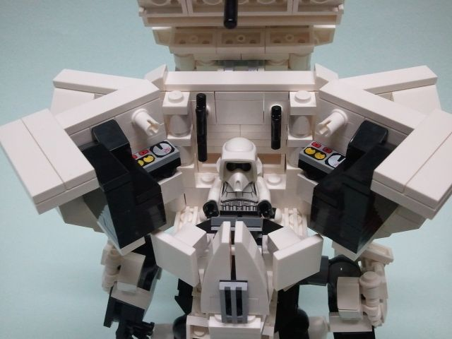 LEGO - Star Wars Scout Trooper Mech Suit | LEGO | Pinterest | Lego ...