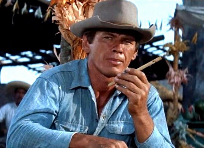 Charles Bronson In The Magnificent Seven 1960 Charles Bronson Actor Charles Bronson Bronson