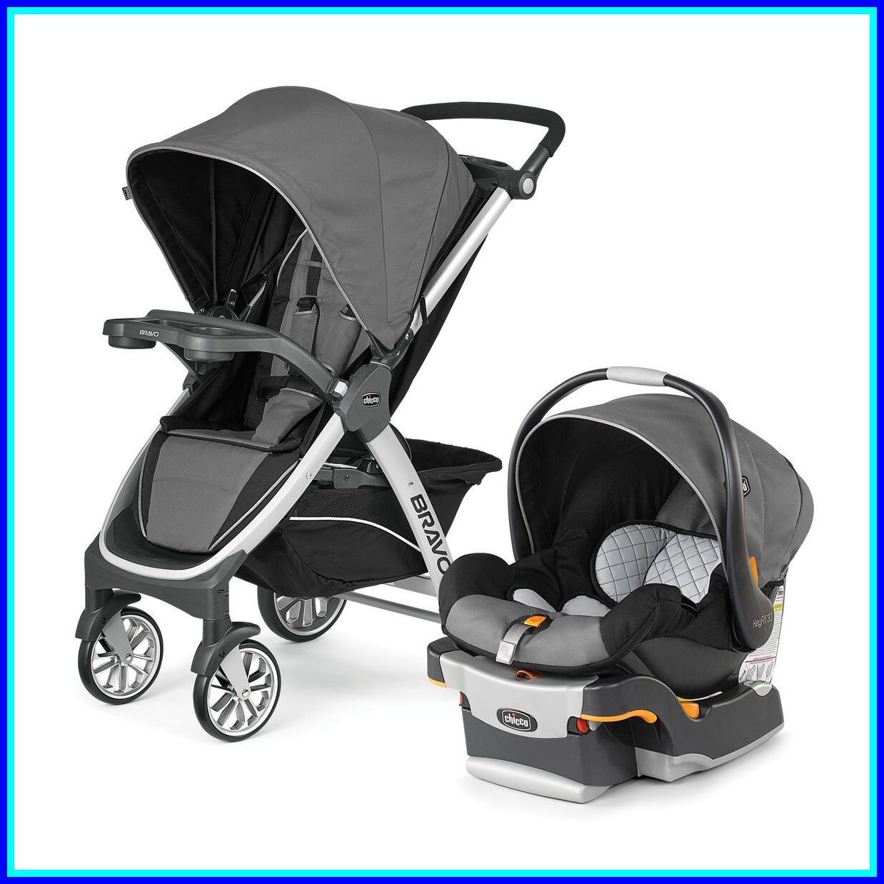 31 reference of chicco bravo le stroller travel system in