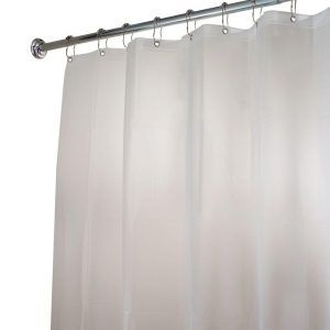 78 Extra Long Waterproof Vinyl Shower Curtain Liner