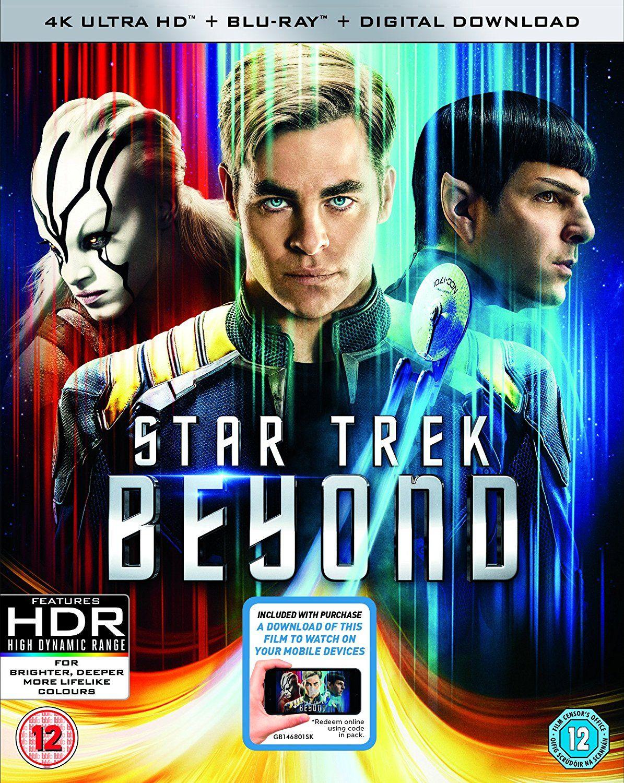 star trek beyond 4k uhd blu ray blu ray digital