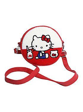 cf906f1b02f3 The purrrfect bag    Loungefly Hello Kitty Milk Fish Bowl Crossbody Bag