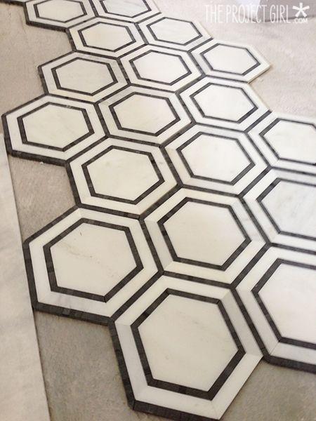 Hexagon Floor Tile Lowes Gallery Modern Flooring Pattern Texture