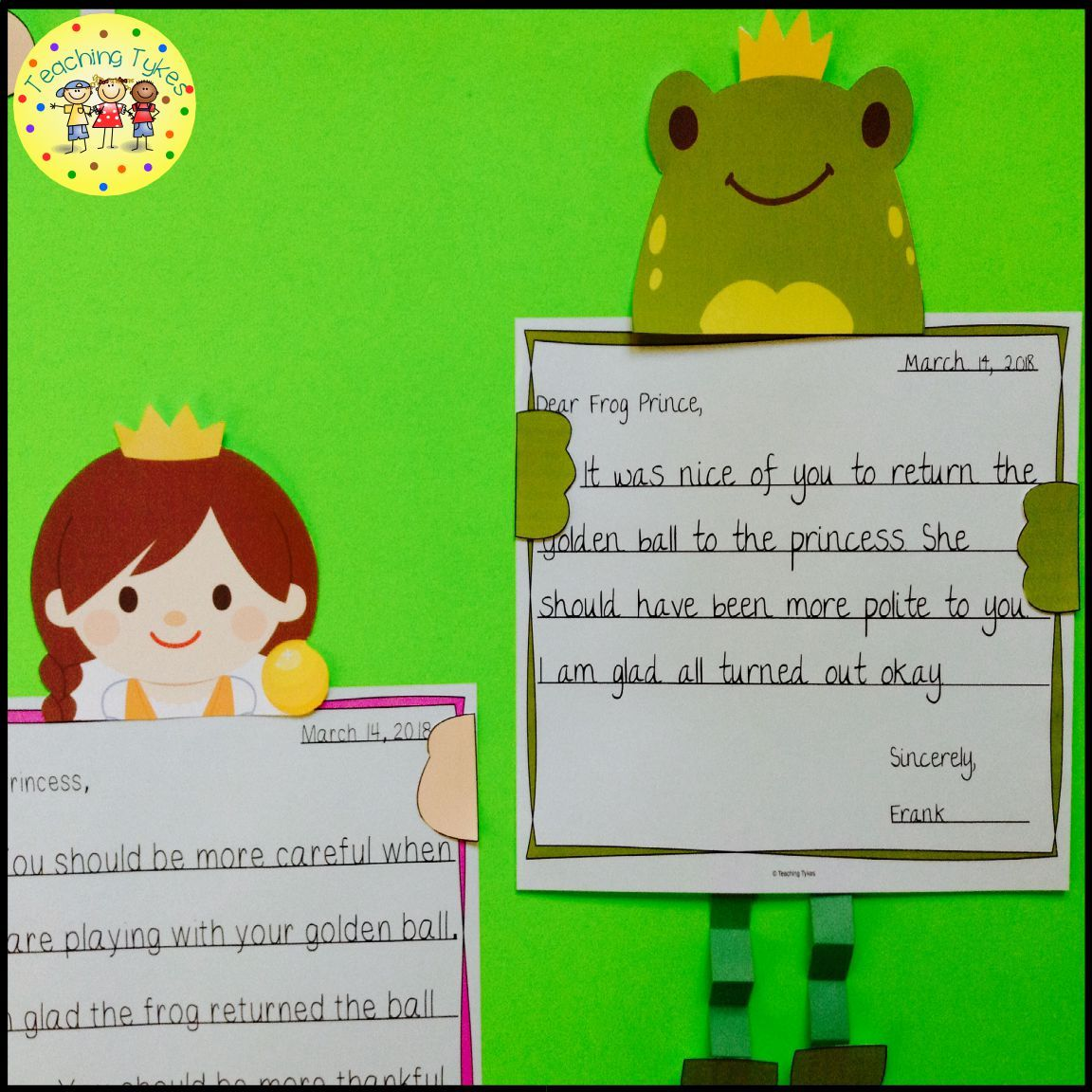 The Frog Prince Activities With Images