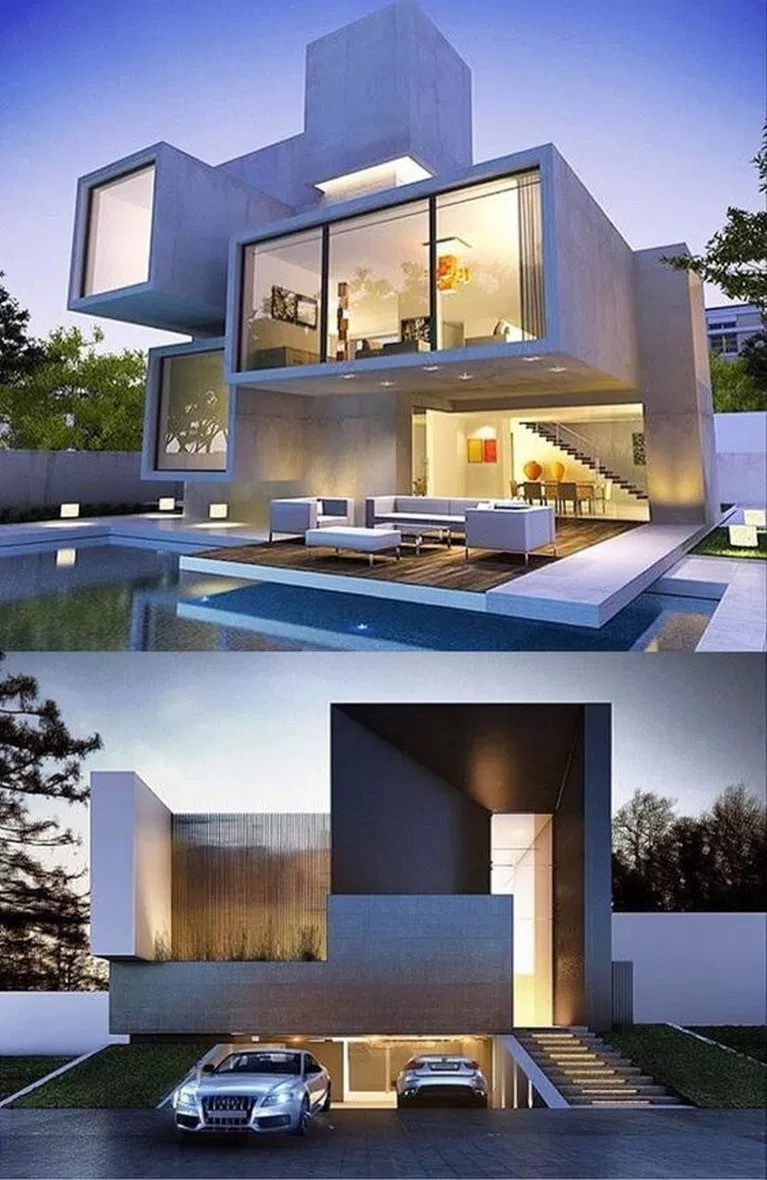 ✔62 fabulous latest modern house designs architecture 42 > Fieltro.Net