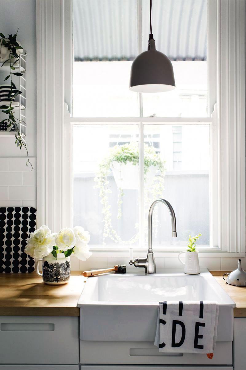 9 Clean & Minimalist Sink Ideas For Your Scandinavian Kitchen ...