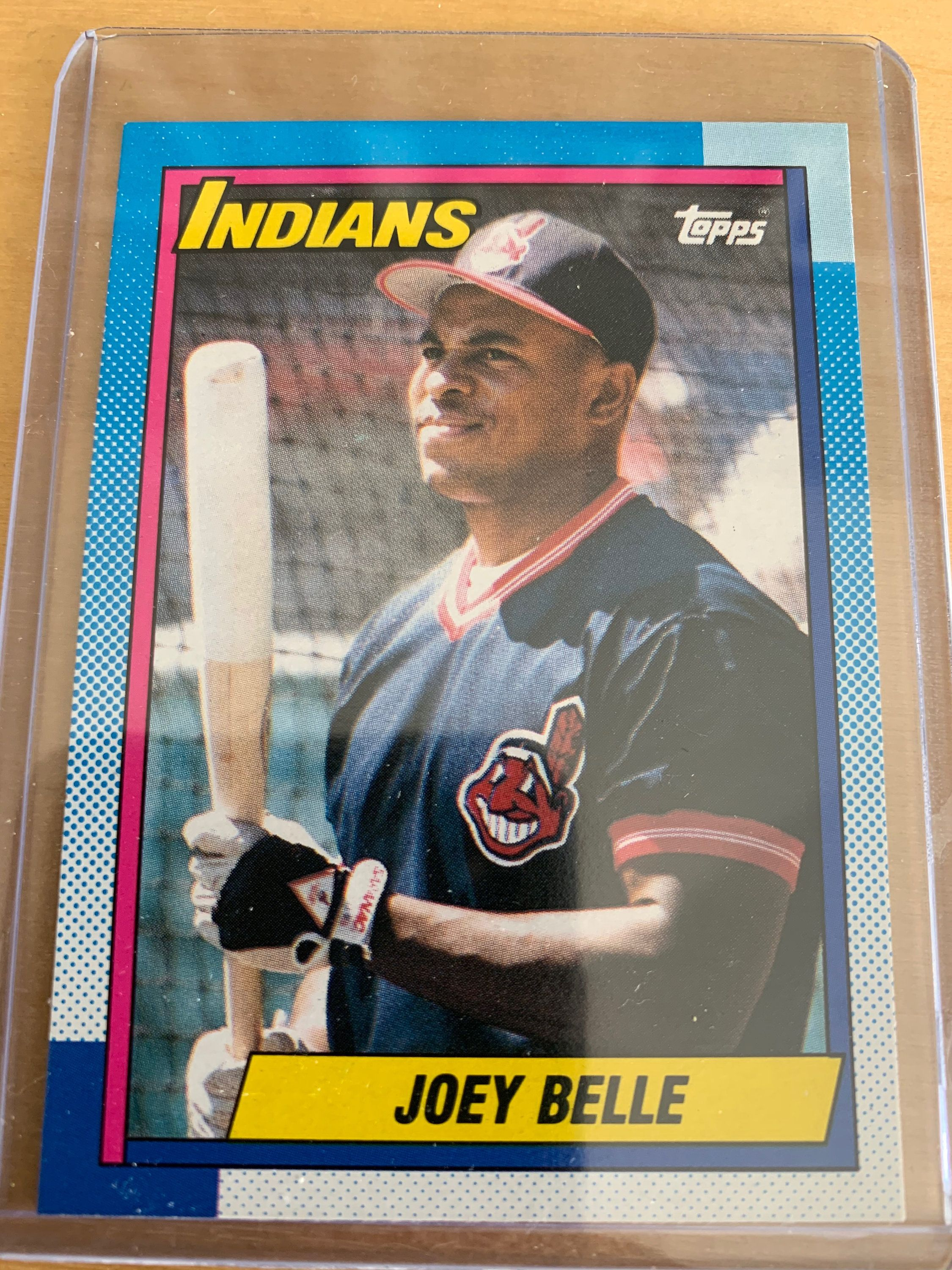 Joey belle rookie 1990 topps etsy iron maiden albums