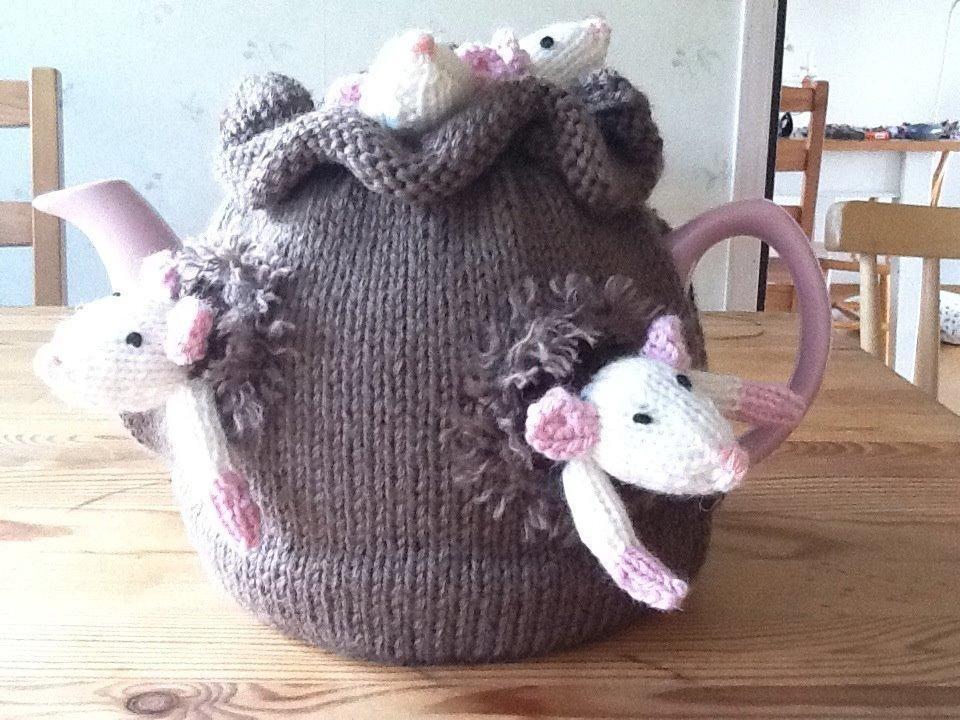 Mice Tea Cozy Crochet Pattern It