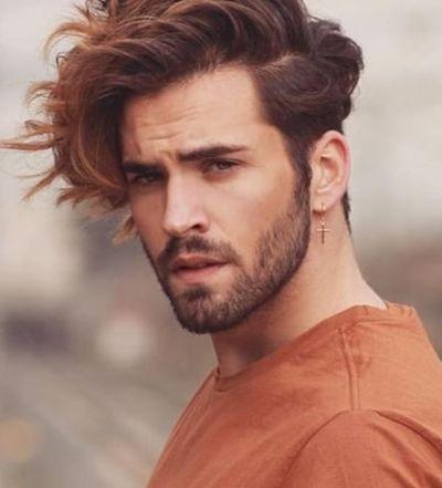 Long Side Fringe Medium Length Hair Styles Medium Length Hair Men Mens Hairstyles Medium