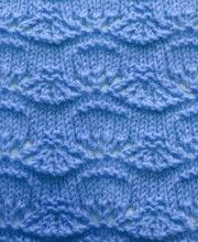 Wellenmuster #Strickmuster http://strick-anleitung.com/category/wellenmuster.html