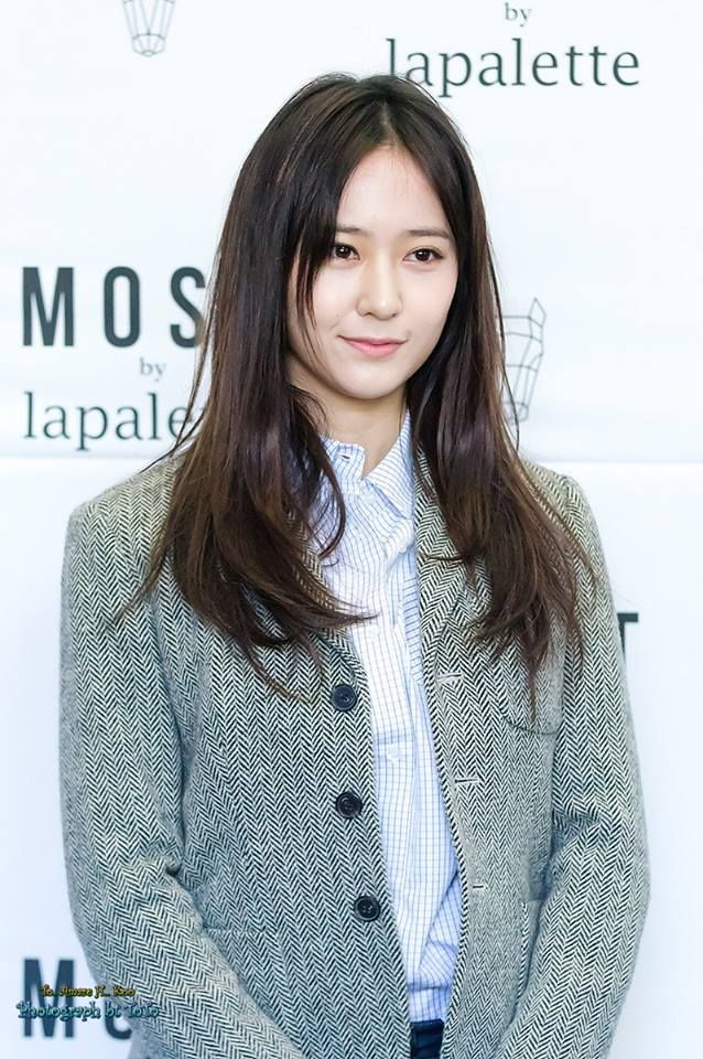 Krystal - Lapalette Fansign cr.Shams-CPY, toto, 아보팬버나, peach,BearBrick, plural_g, press and Arsen Family Sub page
