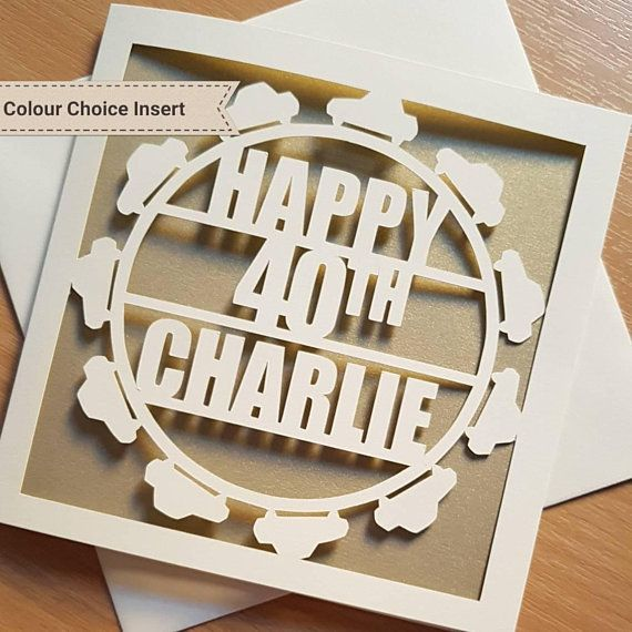 Personalised 18th 21st 30th 40th 50th 60th 70th Birthday Card For Him Son Brother Male Uncle Nephew Dad Grandad Great Grandfather Man Men