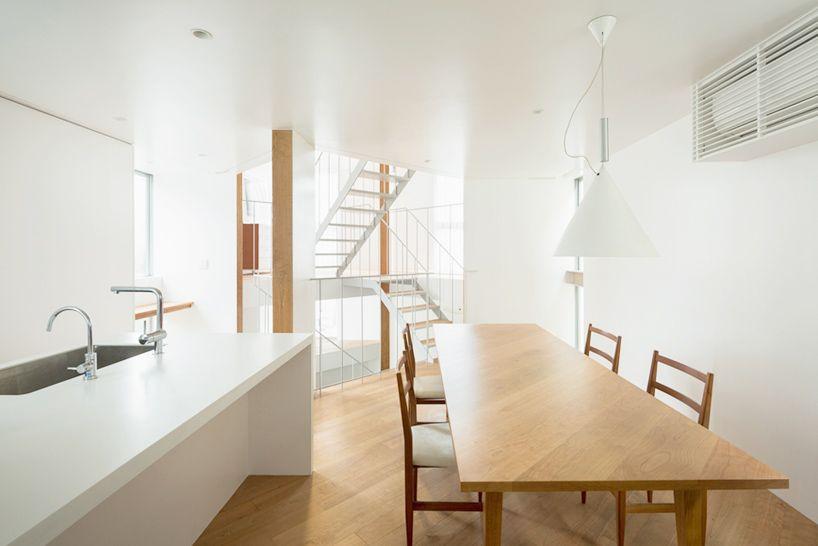 comma design office house in kamiosaki tokyo designboom