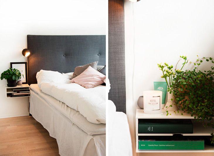 Inspiration til en nem og enkel sengegavl og to flotte DIY ...