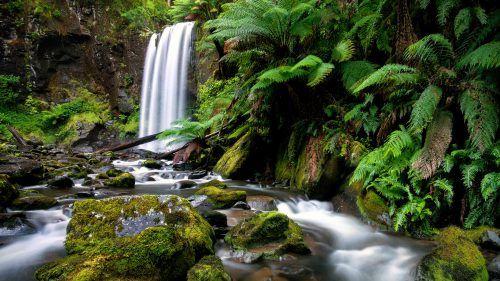 High Resolution Picture Of Hopetoun Falls Australia For