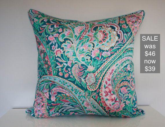 Vintage Paisley Paint a Pillow Kit | Cojines, Manualidades