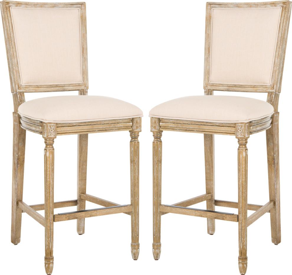 Buchanan Barstool Set Of 2 Farmhouse Bar Stools And Counter Stools By Hedgeapple Counter Stools Bar Stools Furniture