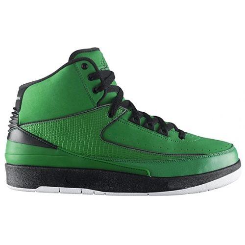 Air Jordan 2 Candy Pack Classic Green Black White 395709-301
