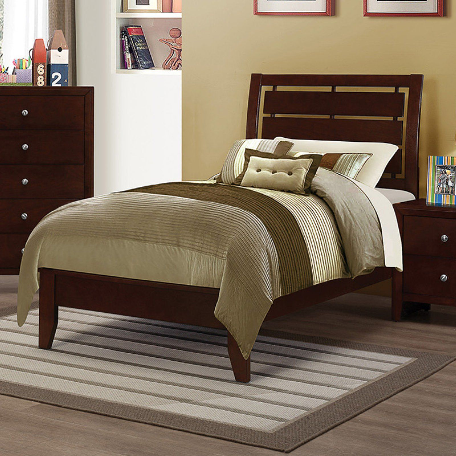 Coaster Furniture Serenity Panel Bed, Size: Twin
