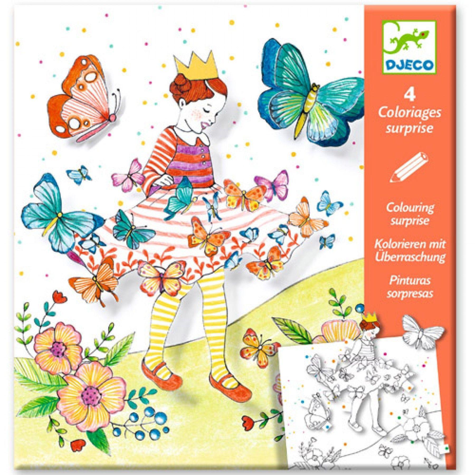 Kleuren Die Verrassen Vlindermeisje Ilovespeelgoed Nl Speelgoed Kinderkleurplaten Speelgoedwinkel